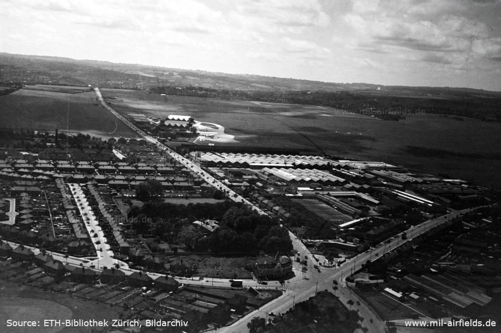 London Croydon Airport aerial view